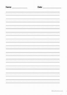 0 free esl writing 20dotted 20line 20worksheet worksheets