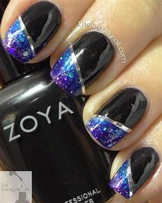 Gradient Nail Tutorial Using Zoya Wishes Collection
