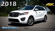 2018 kia sorento sx limited sxl ultimate in depth look