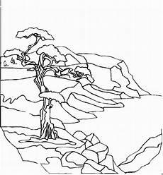 Malvorlagen Landschaften Gratis Zip Alter Baum Am Meer Ausmalbild Malvorlage Landschaften