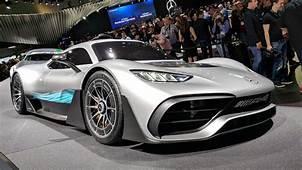 Mercedes AMGs Street Legal F1 Car Makes A Stunning