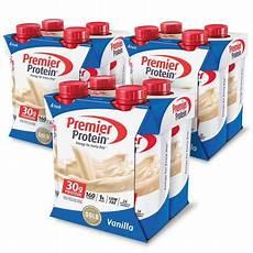 premier protein shake vanilla 30g protein 12 ct 2 pack