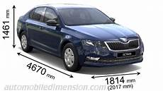 dimension octavia combi dimensions of škoda cars showing length width and height