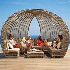 Skyline Design Rattan Sparta Pavilion Daybed Luxury
