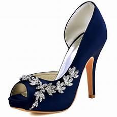 Navy Wedding Heels