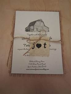 rustic diy invites weddingbee photo gallery