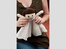 Crochet doll, blanket, Princess Lovey on Storenvy
