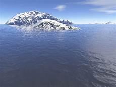 snow island by breizhell