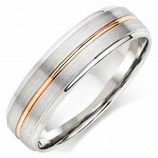 two tone gold wedding rings 14k white rose gold mens