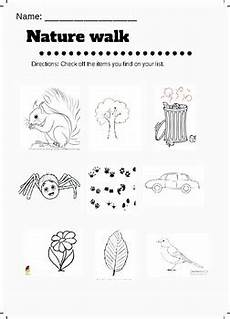 nature s recyclers worksheet answers 15143 nature walk hunt worksheet by teachers pay teachers