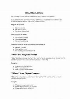 grammar worksheets who or whom 25034 worksheet who whose whom