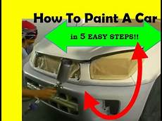 Quot How To Paint A Car In 5 Easy Steps Quot