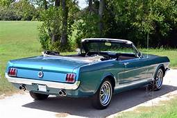 1965 FORD MUSTANG GT CONVERTIBLE  198642