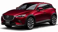 Mazda Cx 3 1 Facelift 2018 Exterior Image In