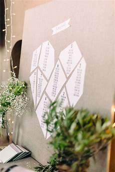tableau plan de table mariage inspiration mariage wedding plan de table origami
