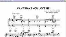 i can t make you love me by bonnie raitt piano sheet music tease youtube