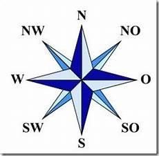 Norden Westen Süden Osten - himmelsrichtungen norden s 252 den westen osten clever merken de