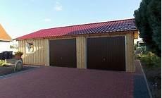 Doppelgarage Holzgarage Fertiggarage 6m X 6m Mit