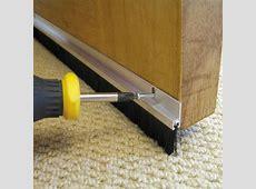 Stormguard Aluminium & Brush Door Seal, (L)2134mm