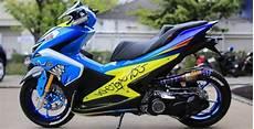Modifikasi Motor Aerox 155 by Kreasi Modifikasi Yamaha Aerox 155 Keren Dan Elegan