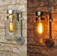 jones wall light 20 vat inc industrial style jar vintage retro ce marked ebay