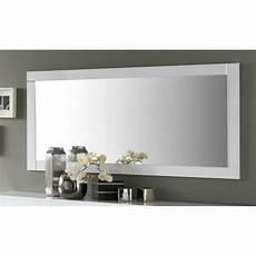 Miroir De Salle 224 Manger Rectangulaire 140 Cm Blanc Laqu 233