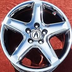 set of 4 chrome 17 quot acura tl oem factory wheels rims rl