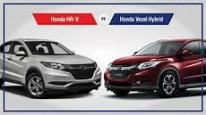 honda hr v vs honda vezel hybrid a brief comparison