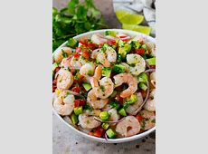 citrus ceviche with shrimp and scallops_image