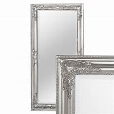 spiegel silber antik spiegel bessa barock silber antik 100x50cm lebenswohnart