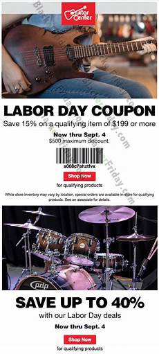 guitar center labor day hours guitar center s labor day sale 2019 blackerfriday