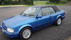 Ford Xr3i Mk4 Cabriolet In Thirsk