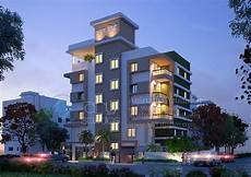 3 Takes On Modern Apartment 3d modern apartment rendering architectural dusk view real