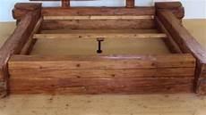 Diy Bett Aus Massivholz Altholz 300 Jahre Alt