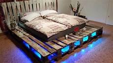 Paletten Bett Selbst Gebaut Pallet Beds Pallet Platform