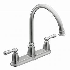 moen 2 handle kitchen faucet moen banbury 2 handle kitchen faucet in chrome the home depot canada