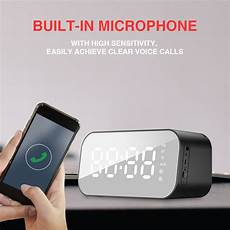 Wireless Bluetooth Speaker Display Dual by Havit M3 Wireless Bluetooth Speaker Led Display Dual Alarm