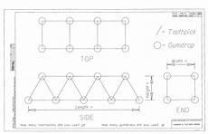 toothpick house plans gumdrop bridges hubpages