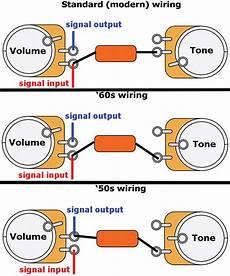 mod garage three ways to wire a tone pot premier guitar