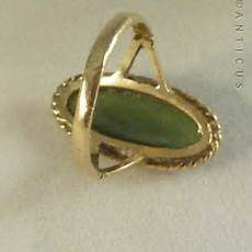 Rings For Sale Nz vintage gold and new zealand jade ring 10427 for sale