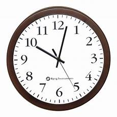 Morden Wall Clock Ticking Wall Clock bjerg instruments modern 12 quot steel enclosure silent wall