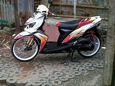 Warna Velg Motor Keren by Tm2 Modifikasi Motor Yamaha Mio Soul Gt Velg Jari