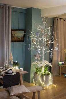 bois bouleau deco decoration de noel avec branche de bouleau