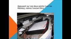 filtre a habitacle changement de filtre d habitacle sur volkswagen new beetle
