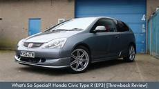 Honda Civic Type R Ep3 What S So Special Honda Civic Type R Ep3 Throwback