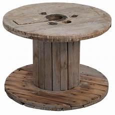 table basse bobine bois table basse bobine mobilier