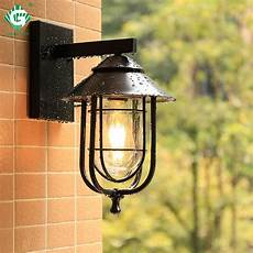 vintage outdoor wall light led waterproof industrial decor outside l black sconce lighting