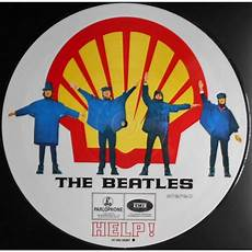 beatles help dvd help shell cover picture disc by the beatles lp with ald93 ref 118134608