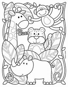 Zootiere Malvorlagen Happy Birthday Zoo Animals Coloring Pages Monaicyn