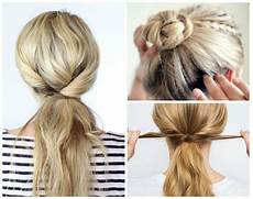 5 Minute Hairstyles For